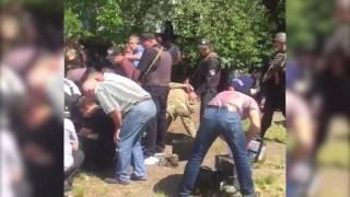 На Вінниччині поліція затримала понад 40 озброєних людей, які спровокували конфлікт  зі стріляниною