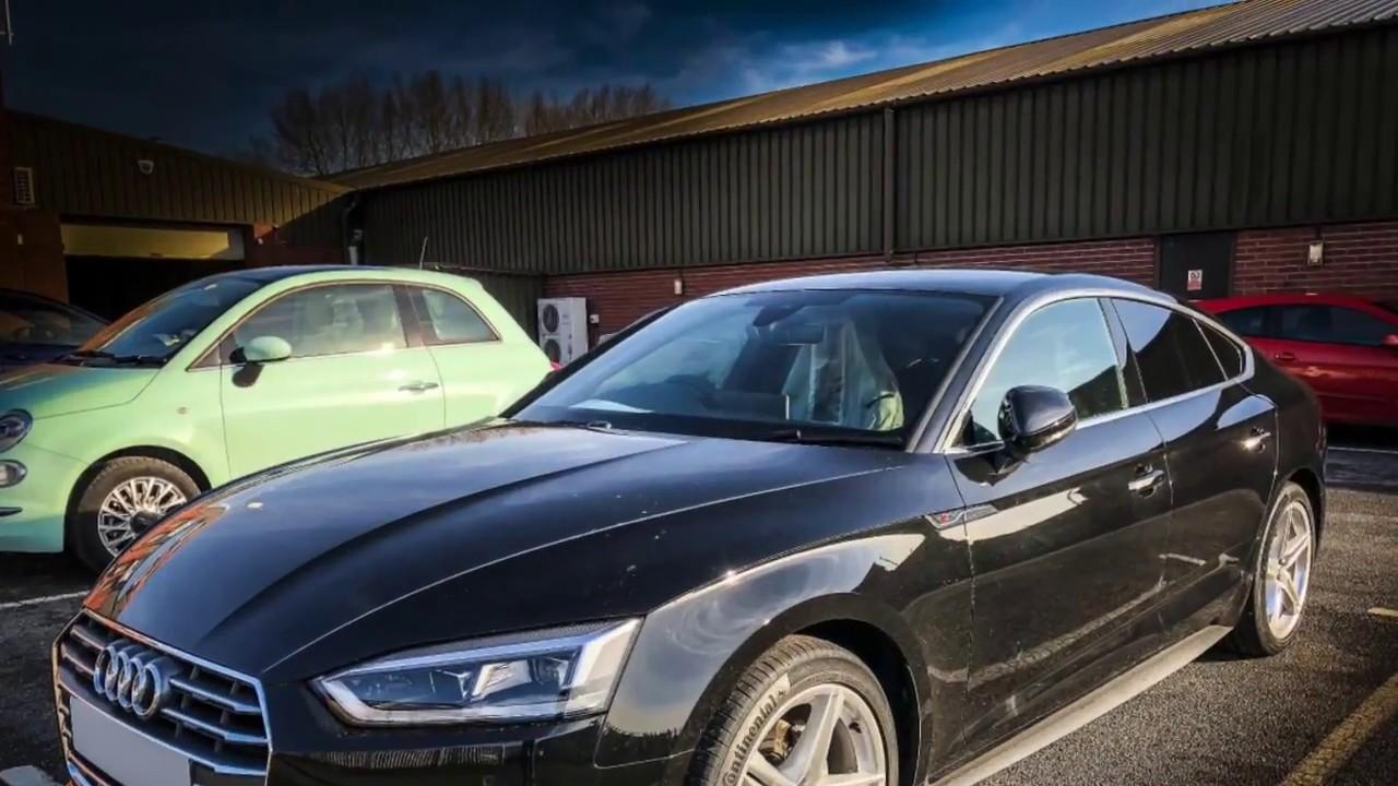Audi A5 Sportback Short Term Car Leasing Youtube