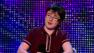 best comedians: own comedy style on Britain's Got Talent from the disabled (jack carrol)