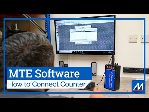 How To Establish USB To Serial Communication | MTE® Software | MetroCount
