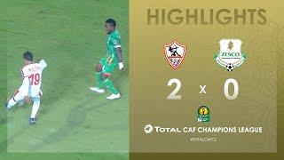 Zamalek SC 2-0 Zesco United FC   HIGHLIGHTS   Match Day 4   TotalCAFCL