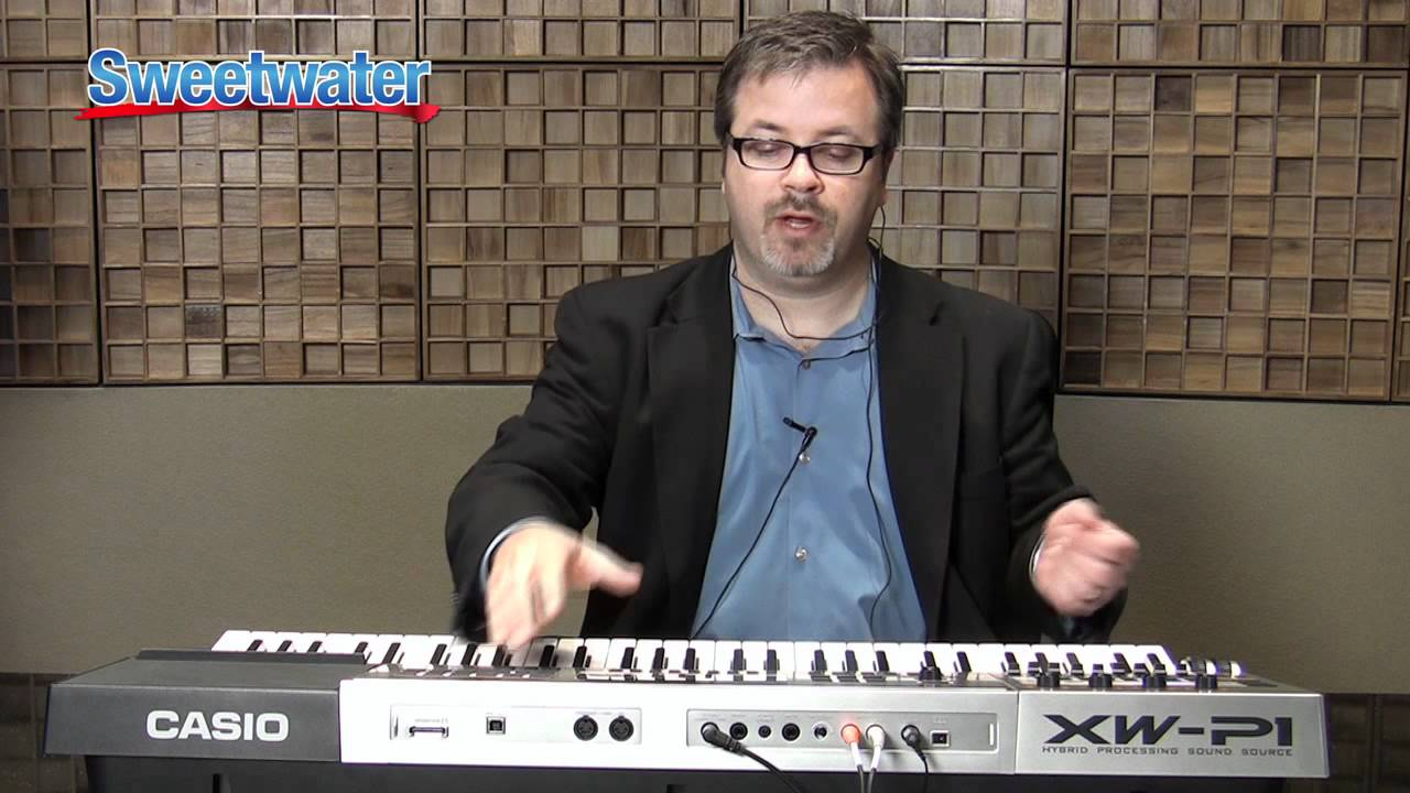Download Casio XW-P1 Performance Synthesizer Demo - Sweetwater Sound