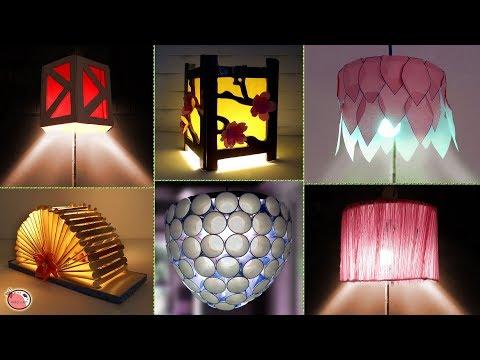 7 Beautiful Lantern Ideas Making at Home !!! Night Lamp DIY