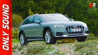 New audi A4 allroad 2019 - first test drive only sound