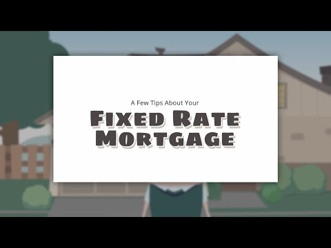 A Few Tips About Your Fixed Rate FHA Mortgage