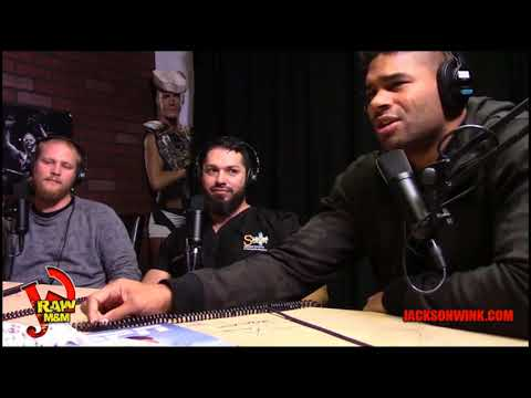 JW Raw with M&M - Alistair Overeem on great chemistry and energy at JW Camp.