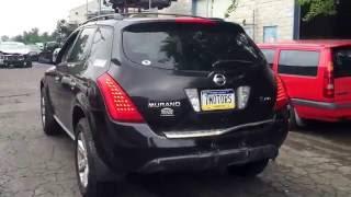 Тестдрайв перед разбором (Nissan Murano 2007 )