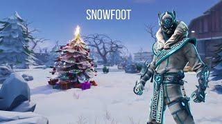 Snowfoot Fortnite Skin Review