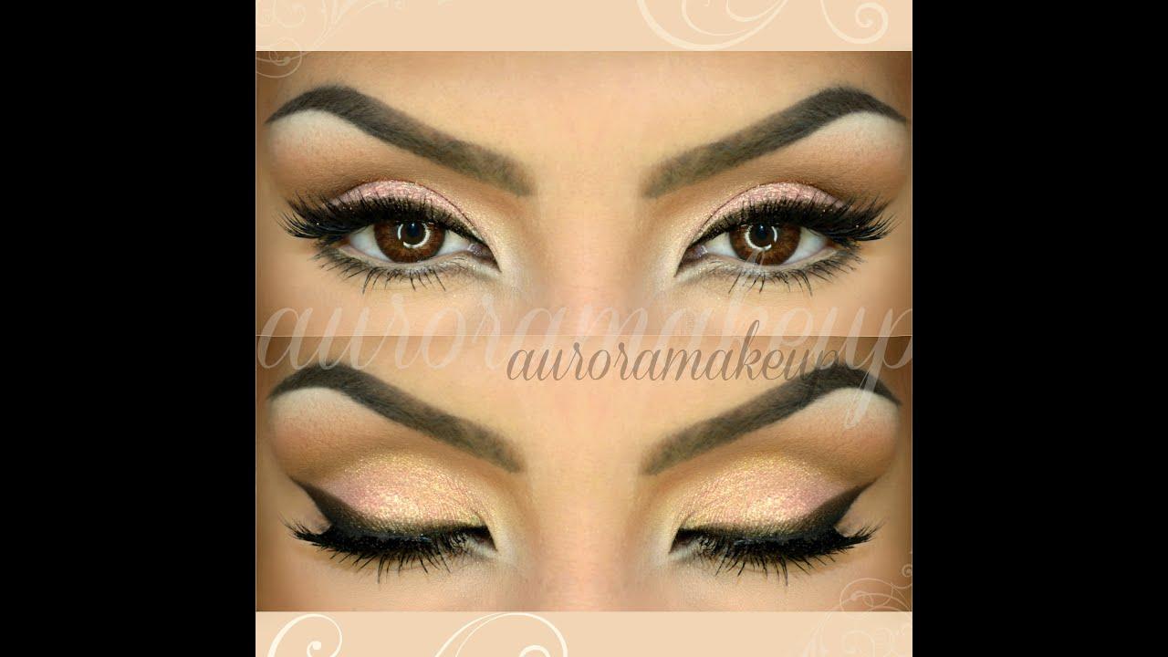 dibujos de algas para maquillar los ojos