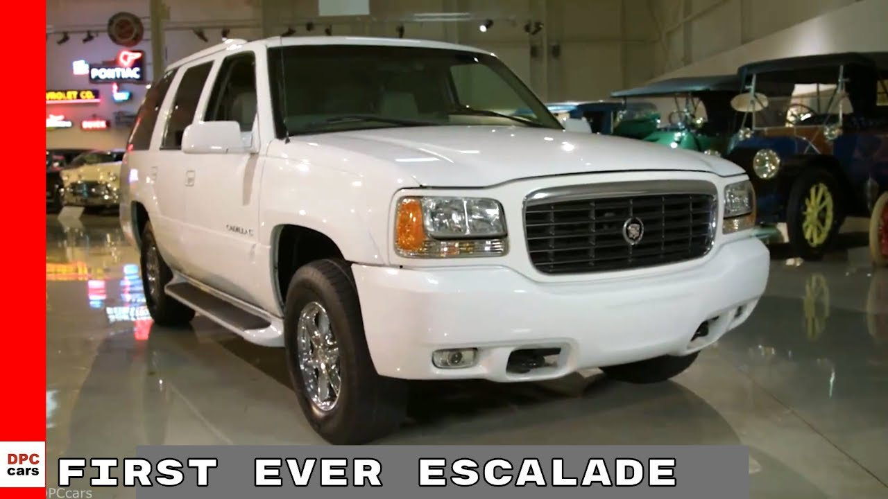The First Ever Escalade Cadillac 20th Anniversary