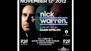Darin Epsilon - Live at Monday Social w/ Nick Warren [Nov 12 2012]