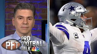 What's Dallas Cowboys breaking point with Dak Prescott contract? | Pro Football Talk | NBC Sports