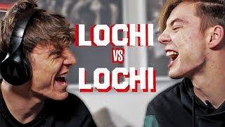 Lippenlesen-Challenge (Achtung: dumm) - Lochi vs Lochi
