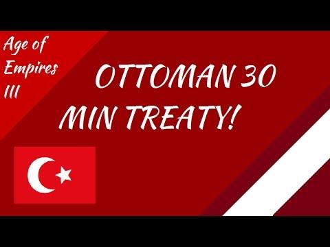 Ottoman 30 Min Treaty! AoE III