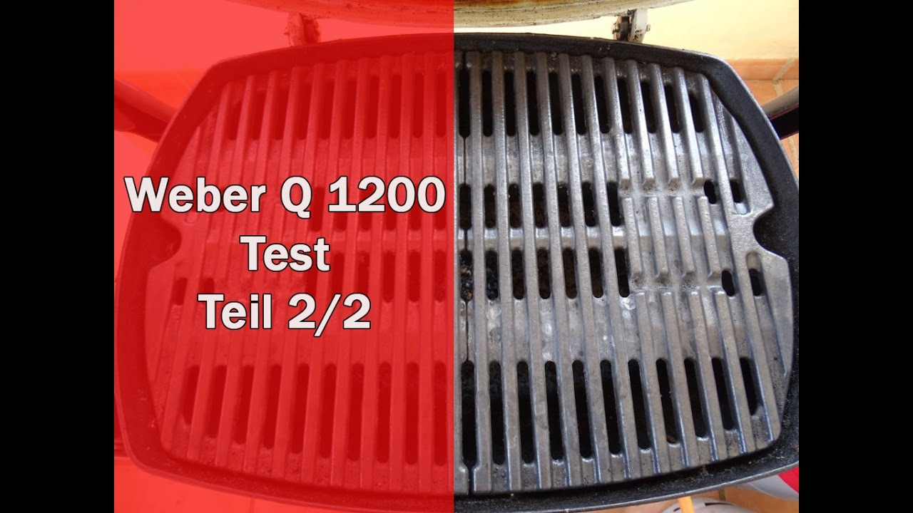 Weber Gasgrill Q1200 Test : Weber q 1200 im test alle details im video [weber q 1200] youtube