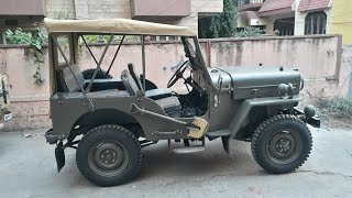 1962 Fully Restored WILLYS CJ3B - For Sale
