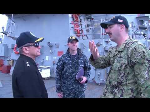 DFN:Vice Admiral Brown Visits Yokosuka, KANAGAWA, JAPAN, 04.11.2018