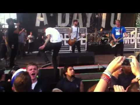 Since U Been Gone - A Day To Remember - Riot Fest Chicago 2012