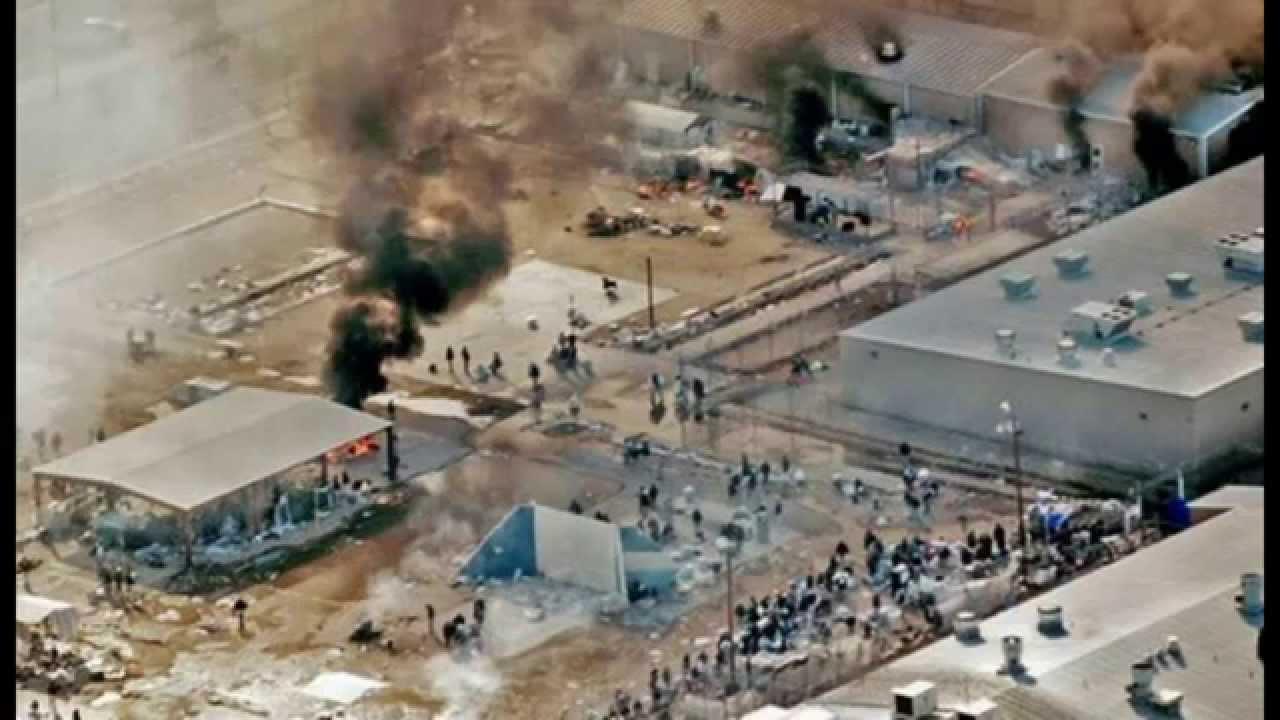 Texas Prison Riot Thousands of Inmates Seize Control Correctional Facility  YouTube