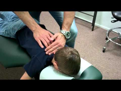 Dr. Jason Worrall-Pediatric Chiropractic Adjustment