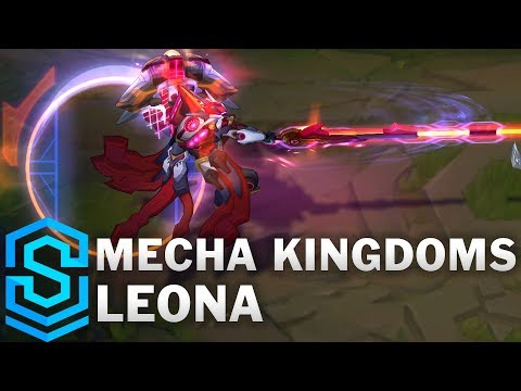 Mecha Kingdoms Leona Skin Spotlight - League of Legends
