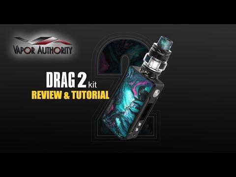 VooPoo Drag 2 Kit - Review & Tutorial