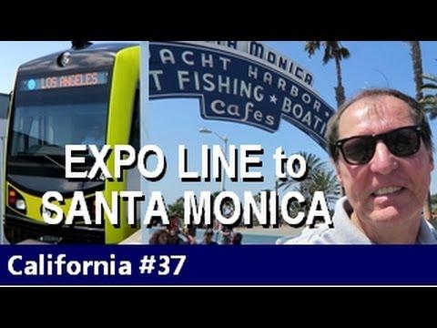 LA Metro - Expo Line. Culver City to Santa Monica - Episode 37