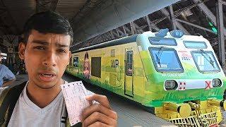 Buying Luxury Train Ticket Mumbai AC Local (Poor vs Rich) - Social Experiment | TamashaBera