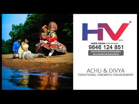 Achu & Divya _ Cinematic Traditional Engagement Highlights _ HARIS VISION 2016