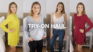 Huge Collective Try-On Haul: Forever 21 + More!