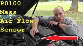Nissan / Infiniti Mass Air Flow Sensor Testing & Replacement P0100