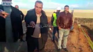 محافظ بورسعيد يتفقد الاعمال الانشائية لمحطة مياه الشرب الجديدة بقرية الكاب جنوب مدينه بورسعيد