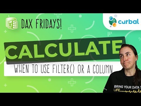 DAX Fridays! #78: When should I use FILTER() with CALCULATE?