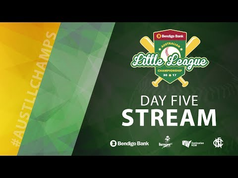 DAY FIVE Bendigo Bank Australian Little League Championship