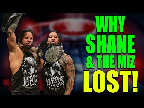 Real Reasons Why The Usos Won the WWE Smackdown Tag Championship at Elimination Chamber 2019
