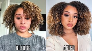 How I Grew My Curly Hair! *journey + tips*