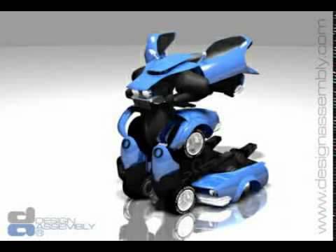 Mobil Jadi Robot