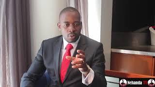 Nelson Chamisa explains joke about his sister and Mnangagwa