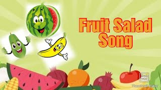 Fruit Salad Song for kids   Watermelon Song   Boo TV