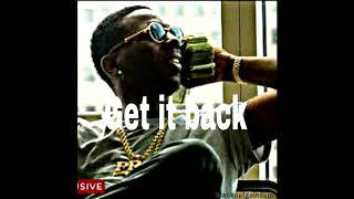 "Young Dolph x Key Glock x Moneybagg Yo type beat ""Get it Back"" 2019  (Prod.Blackoutgoindum)"