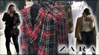 ZARA SHOPPING VLOG & TRY ON  - SUMMER TO FALL TRANSITIONAL OUTFITS