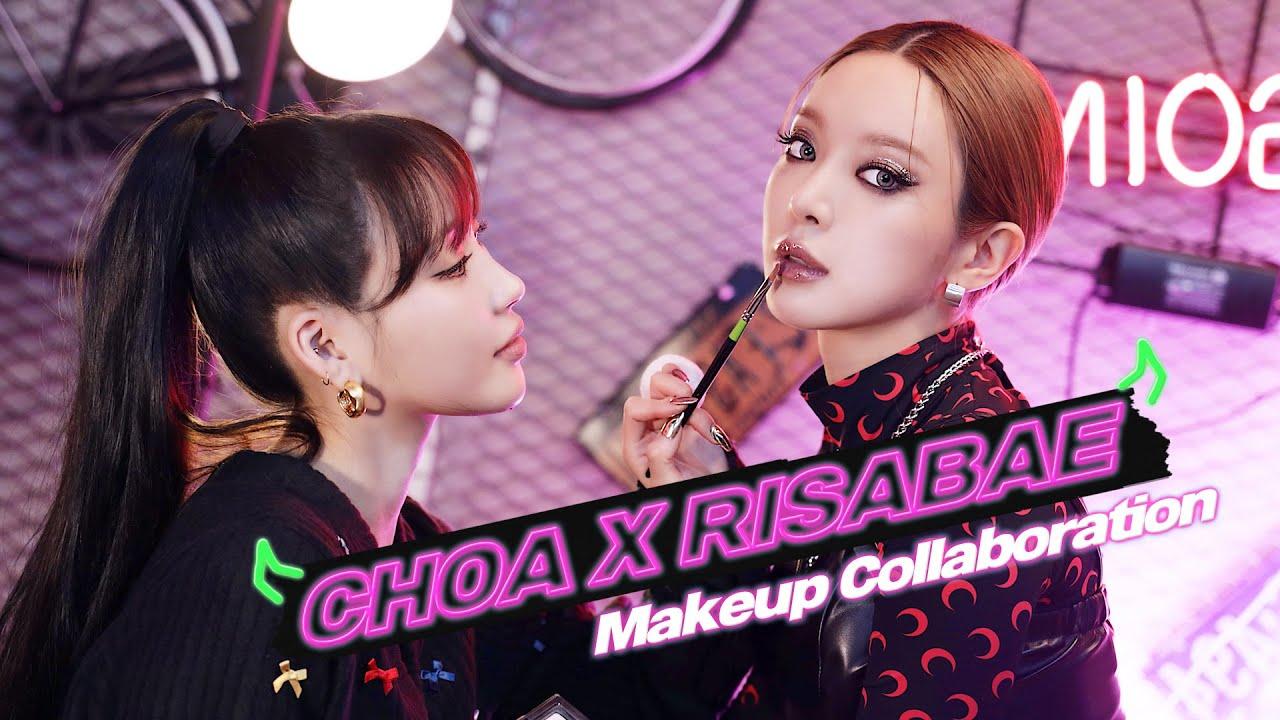 [Eng] 초아(CHOA)에게 쎈 언니 메이크업 해주기😎 l 이사배(RISABAE Makeup)