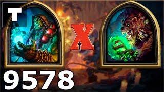 Hearthstone: Kobolds & Catacombs Shaman vs Elder Brandlemar [02] (9578)