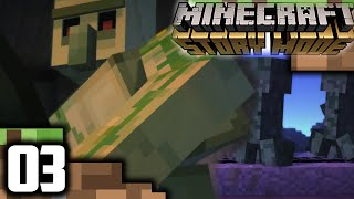 MINECRAFT STORY MODE Walkthrough Part 3 || WITHER INGREDIENTS! || Minecraft Story Mode Gameplay