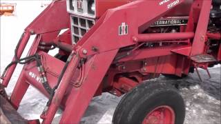ih 784 tractor with loader for sale by mast tractor