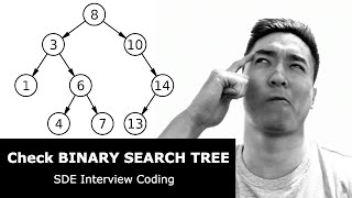 Check Binary Search Trees (SDE Interview Questions)