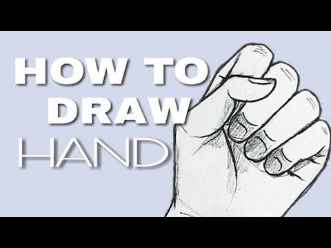 How to Draw Hends ( Cara Menggambar Tangan)