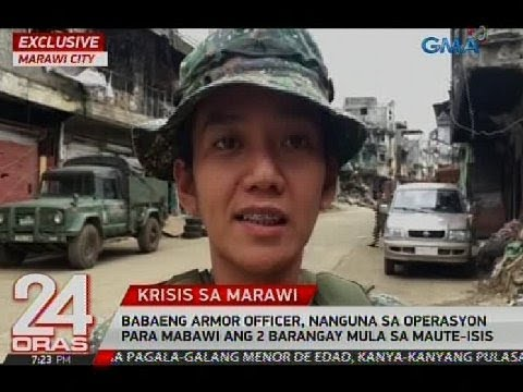 Officer, nanguna sa operasyon para mabawi ang 2 barangay mula sa Maute-ISIS