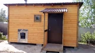 Каркасная баня г.Сургут
