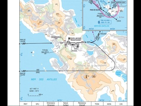 Infinite Flight #(036)-How To Land @ St-Jean GUSTAVE III Airport, St.Barts (3-Ways)?(Long Video)